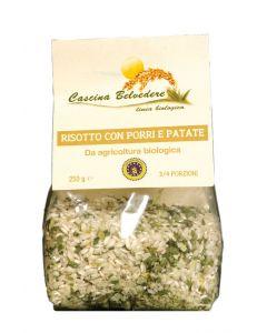 Risotto Porri e Patate 250g BIO senza glutine