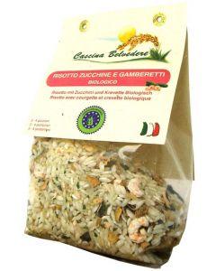Risotto Zucchine e Gamberetti 250g BIO senza glutine