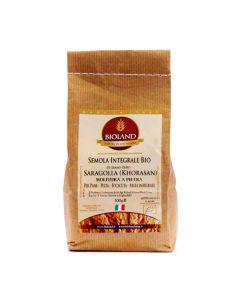 Semola integrale di grano Saragolla 1Kg BIO