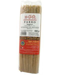 Spaghetti di Farro Semintegrali 500 g BIO
