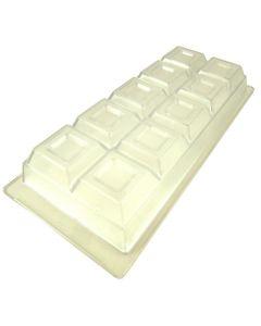 Stampo per tavoletta al cioccolato 120mm x 270mm (professionale)