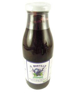 Succo e polpa di mirtillo nero selvatico 500ml BIO