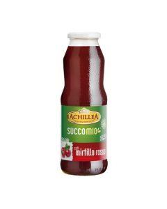 Bevanda di frutta SuccoMio al mirtillo rosso 750ml (6 pezzi)