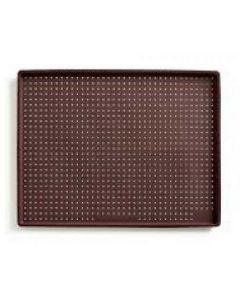 Tappetino microperforato rettangolare per pizza in silicone 40*30