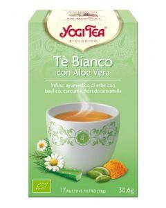 Tè bianco con aloe vera e basilico 30,6 g BIO (min. acquisto 10 pezzi)