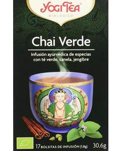 Tè speziato Verde Chai con cannella e zenzero 30,6 g - 17 flt BIO (min. acquisto 10 pezzi)