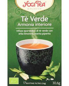 Tè verde Armonia Interiore erba limonina e menta piperita 30,6 g - 17 flt BIO (min. acquisto 10 pezzi)