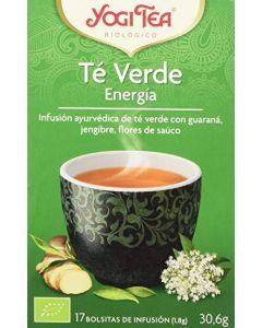 Tè verde Energia zenzero e fiori di sambuco nero 30,6 g - 17 flt BIO (min. acquisto 10 pezzi)
