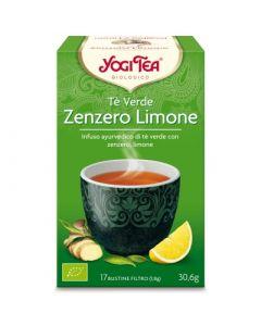 Tè verde zenzero e limone 30,6 g - 17 flt BIO (min. acquisto 10 pezzi)