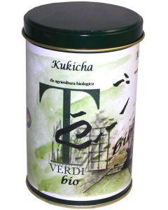 Té Kukicha in latta 100g BIO