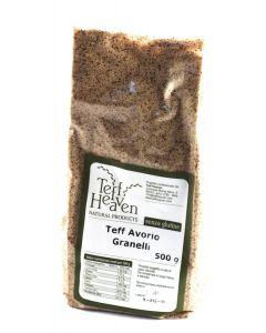 Teff in granelli avorio 500 g senza glutine