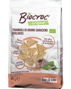 """Triangoli di grano saraceno """"Biocroc"""" 40 g BIO (min. acquisto 10 pezzi)"""