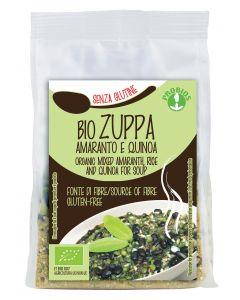 Zuppa con amaranto e quinoa senza glutine 300 g BIO