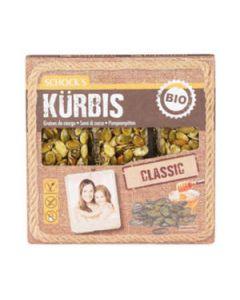 Barretta semi di zucca 3x25 g BIO senza glutine  (min. acquisto 10 pezzi)