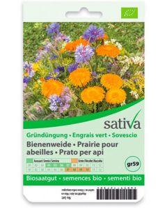 Miscela di fiori - prato per le api - varietà da sovescio 5 g BIO