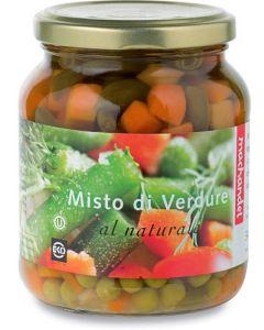 Misto di verdure al naturale 350 g BIO  (min. acquisto 10 pezzi)