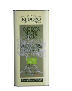 Olio extravergine di oliva in latta 3 L BIO