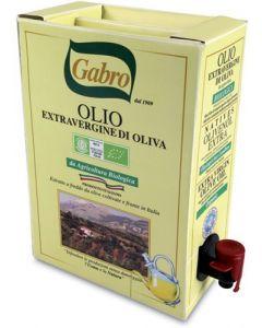 Olio extravergine di oliva bag in box 3 L BIO
