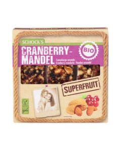 Barretta cranberry e mandorle 3x25 g BIO senza glutine  (min. acquisto 10 pezzi)