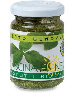 Pesto alla genovese 125 g BIO  (min. acquisto 10 pezzi)