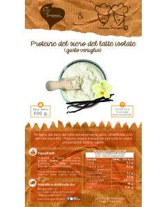 Proteine Dulight isolate del siero del latte in polvere (Vaniglia) 500g