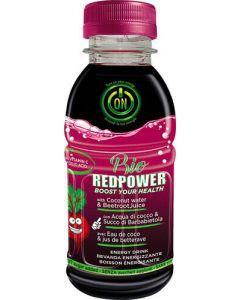 Red power - energetico a base di acqua di cocco e barbabietola 330 ml BIO