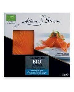 Salmone irlandese affumicato 100 g BIO  (min. acquisto 6 pezzi)
