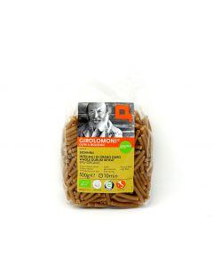 Sedanini integrali di grano duro 500 g BIO  (min. acquisto 10 pezzi)