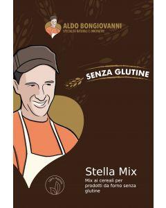 Stella Mix - Miscela multicereali per pane e pizza senza glutine 350g