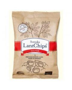 Patatine lantchips salted 100 g BIO  (min. acquisto 10 pezzi)