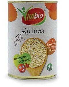 Quinoa pronta in lattina 400 g - 240 g sgocc. BIO